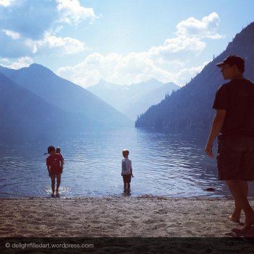 Camping at Chilliwack Lake: nature therapy