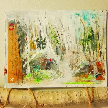Treetop Trail on Paper